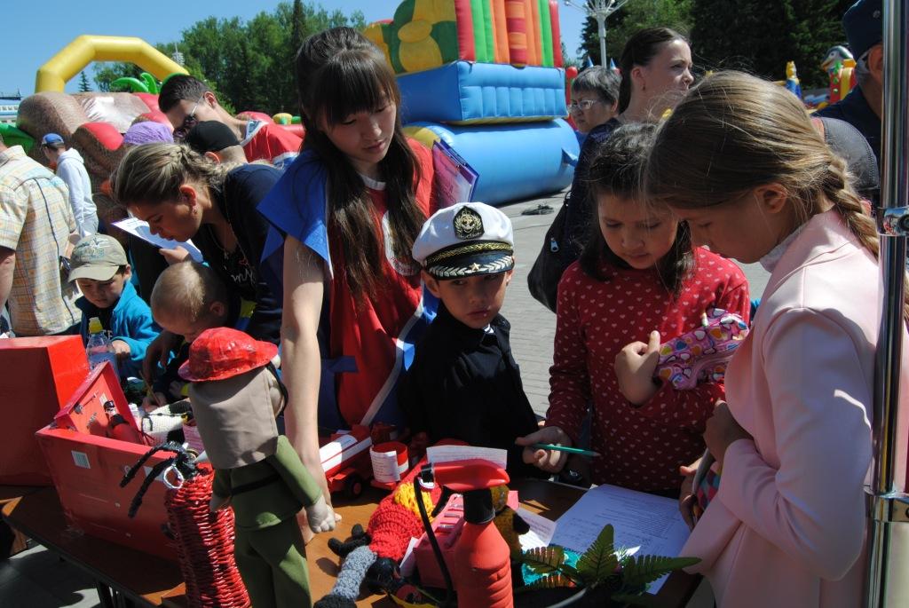День защиты детей в г. Горно-Алтайске.