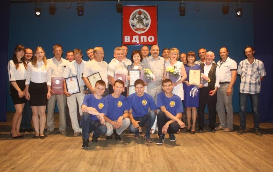 Торжественное собрание в честь 125-летия Всероссийского добровольного пожарного общества Республики Алтай.