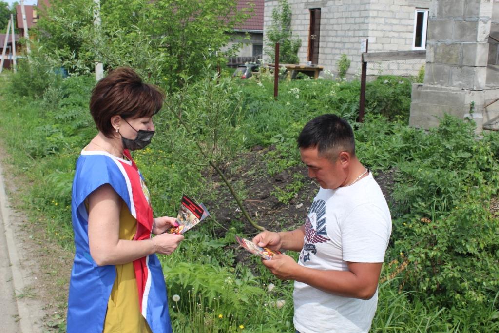 В Горно-Алтайске продолжаются профилактические противопожарные мероприятия.