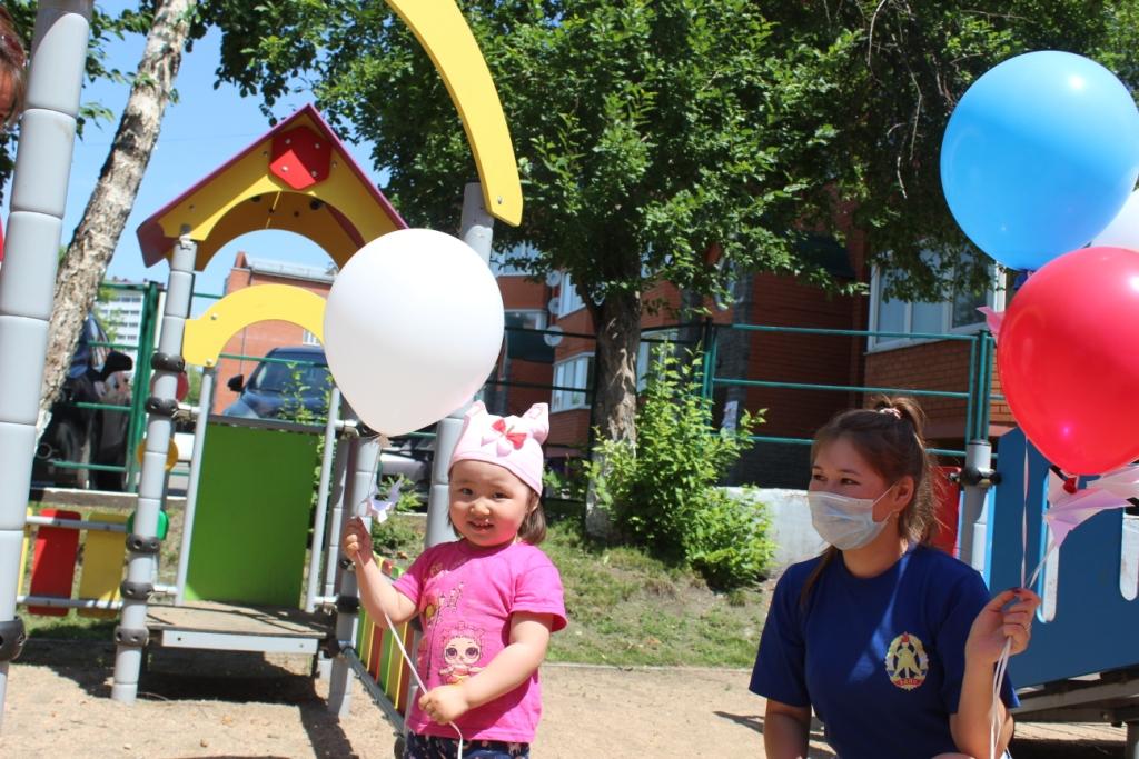 ВДПО Республики Алтай приняло участие в акции «Голубь мира».