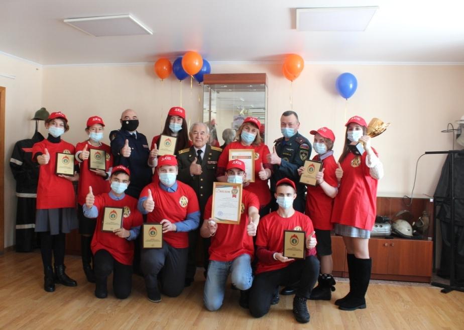 Поздравляем «Команду 01» с успешным выступлением на Всероссийском этапе смотра-конкурса «Лучшая дружина юных пожарных России»!