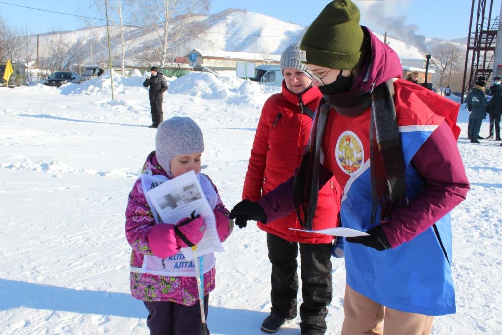 «Лыжня России-2021» в Горно-Алтайске.