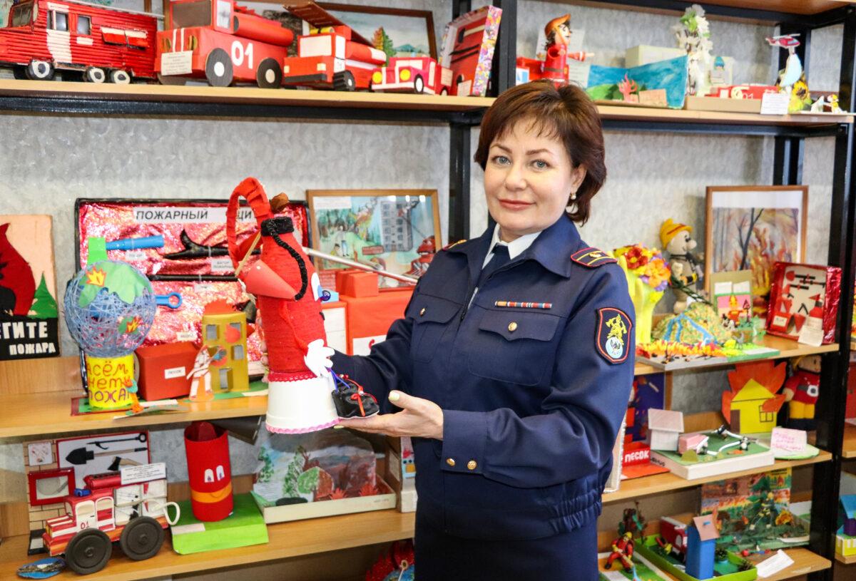 В городе Горно-Алтайске завершился конкурс по пожарной безопасности «Неопалимая купина».