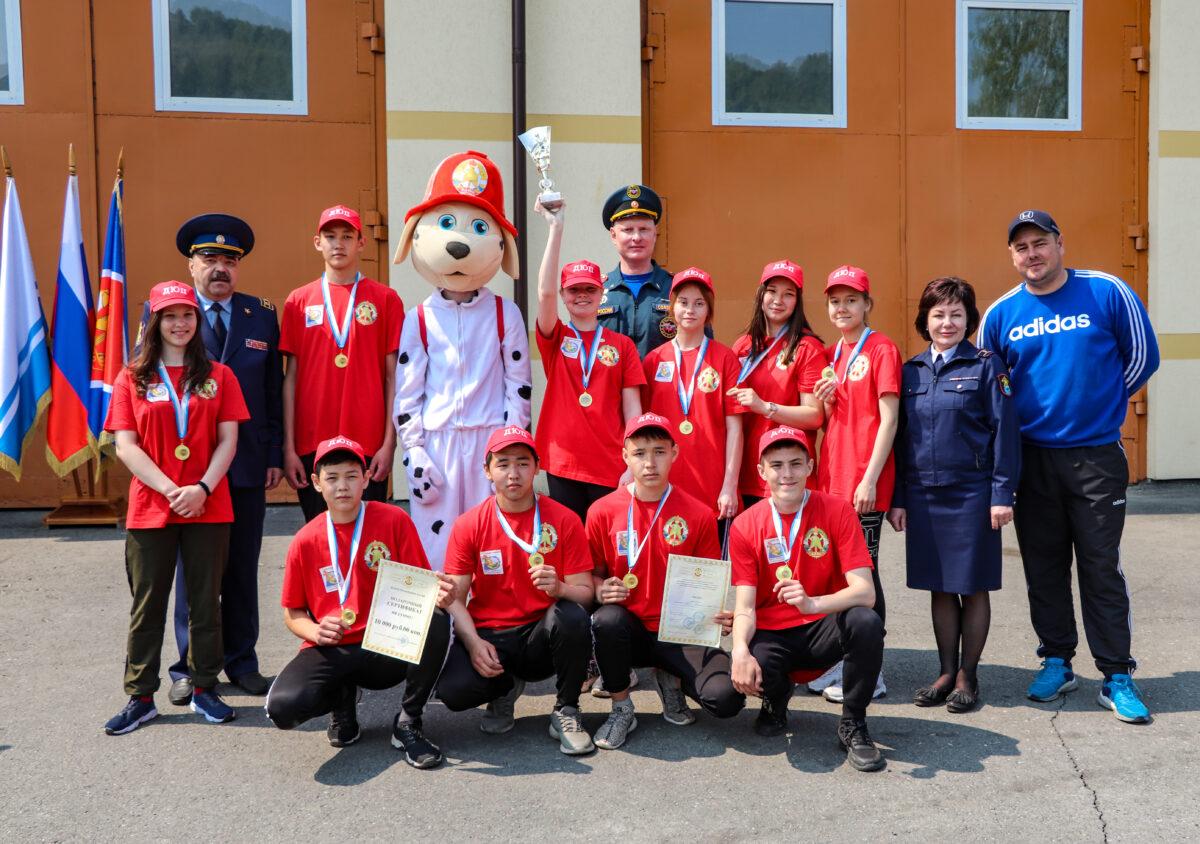 В Республике Алтай прошел муниципальный этап смотра-конкурса «Лучшая дружина юных пожарных России»