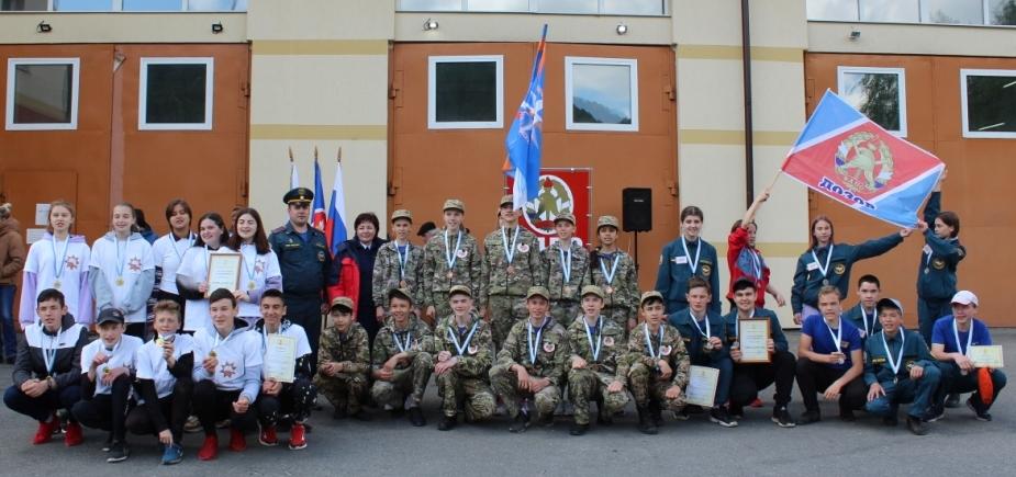 В Республике Алтай завершились муниципальные этапы смотра-конкурса «Лучшая дружина юных пожарных России»