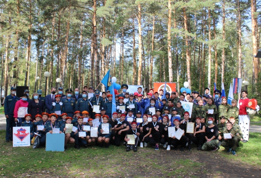 В Республике Алтай прошел региональный этап Всероссийского смотра-конкурса «Лучшая дружина юных пожарных России».