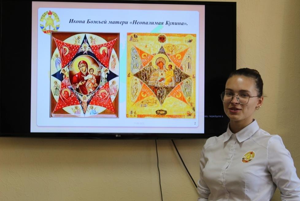 «ДЮПята» познакомились с историей  иконы «Неопалимая Купина».